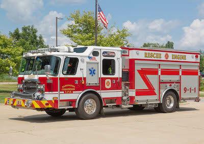 Fire Engine BCFPD