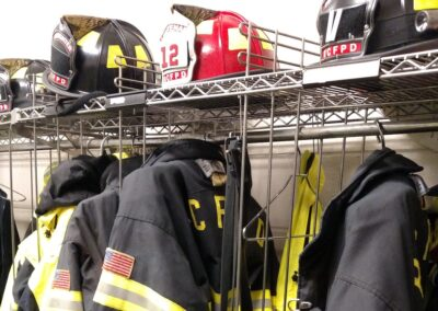 Firefighter Gear Waiting to be Worn